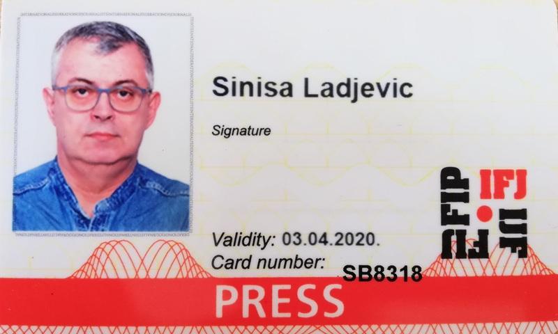 Sinisa Ladjevic - IFJ